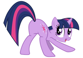 Twilight Proudly Showing Her... by Yanoda