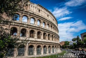 Colosseo Exterior by cupplesey