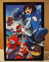 Megaman Legends 3 Card Relief by Renpatsu