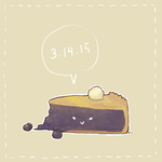 Happy Pi day! by epicawesomepieisepic