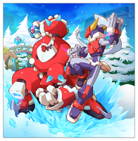 The battle for Christmas by Zohaku