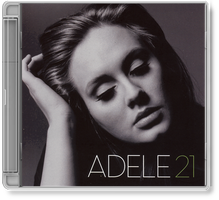 Adele - 21 CD  album  icon by enad911