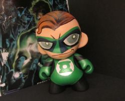 Munny Hal Jordan by KidNotorious