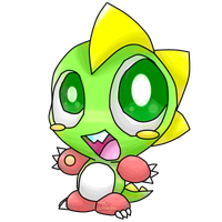 Bubble Bobble Collab: Bub by Chenanigans