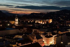 Linz at Night by MsKiss
