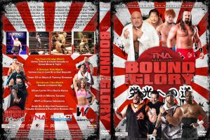 TNA Bound for Glory 2014 DVD Cover by Chirantha