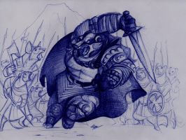 Redwall. The Epic Badger Lord. by FortunataFox