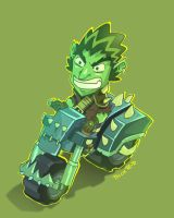 Ork in bike by rickrd