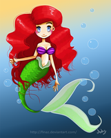 Ariel The Little Mermaid by FinaSusu