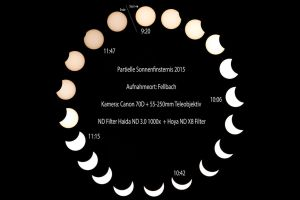 partial eclipse 2015 over Europe by ArkanumTenebrae