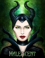 Maleficent by Olooriel