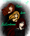 Maria, Anna And Belladonna: Reincarnations. by kuraikitsune13