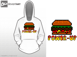 8-bit Challenge, Hamburger Power Up! by THE--CoP