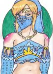 Gerudo Link by TheAdiRam
