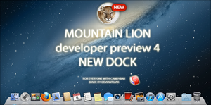 mountain lion new dock and icons v.2 by deviantgiak