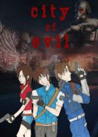 City Of Evil Cover Page by ChiisaiKabocha17