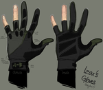 Izax's Stupid New Gloves by Journye