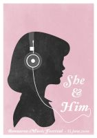 She and Him - 1 by Process-junkie