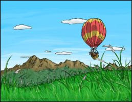 Elk Balloon by ashkey