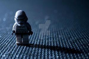 Sad Storm Trooper by StewNor