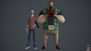Geoff and Jack - Achievement Hunters by nthn-schtz