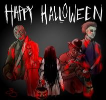 Halloween and Co. by J-Spence