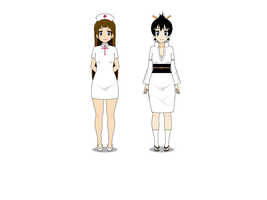 Megan and Kimi Halloween costumes by AlexPetrozza1995