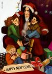 HP: New Year with Snape by iago-rotten