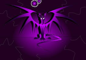 Sharp dragon ...Ultraviolet by THEKIDWITHAKNIFE