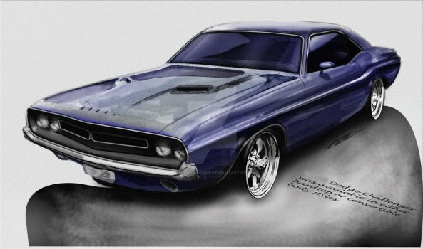 Dodge Challenger by astonviceroy