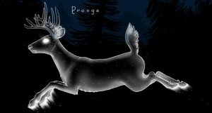 Prongs Patronus by bluebindi