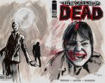 Walking Dead sketch cover by ride3932