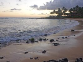 Hawaii Beach After Sunset by MogieG123