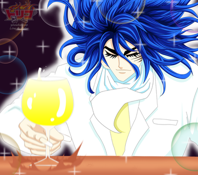 Toriko after drinking the billion bird by youwhatsup