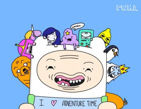 Adventure Time by personwhohasaccount