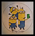 The Minion Party by pixiechanwilliams