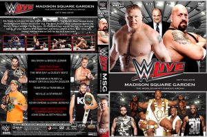 WWE Live from MSG 2015 DVD Cover by Chirantha