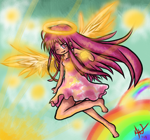 Espia - Angelic Fighter by Qynat