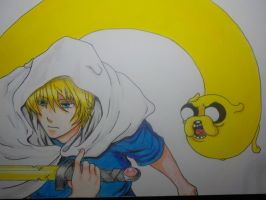 Finn And Jake Anime Version by TheGhin