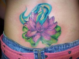 Lotus flower cover up by trauma01