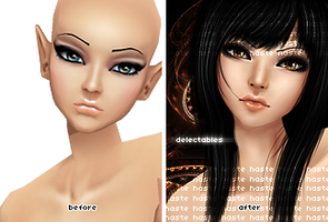 delectables - Before and After by LeHaste