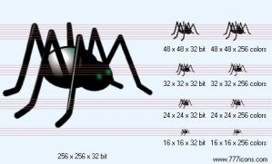 Spider Icon by science-icons