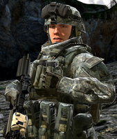 Sgt. James Smith U.S Army Ranger by LordHayabusa357