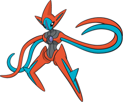 Deoxys' Attack Forme Cursor by XL-SwAt