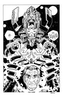 King Kirby and Galactus by Andrew-Ross-MacLean