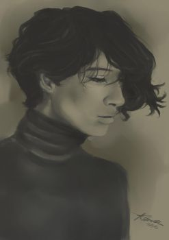 .:Photo Study:. Male 1 by LainyLu