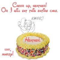 Cake Fo' Heather by sadwonderland