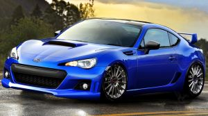 Subaru BRZ Soft Design by Sedatgraphic2011
