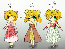 Take me to Prom? More Dresses by hikari2314