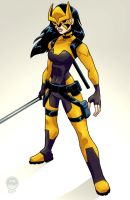 Young Justice Tigress - EoSS Commission by EryckWebbGraphics